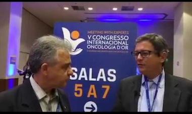 Dr. Rodrigo Frota concede entrevista para o Fala Brasília no V CONGRESSO INTERNACIONAL ONCOLOGIA D´OR